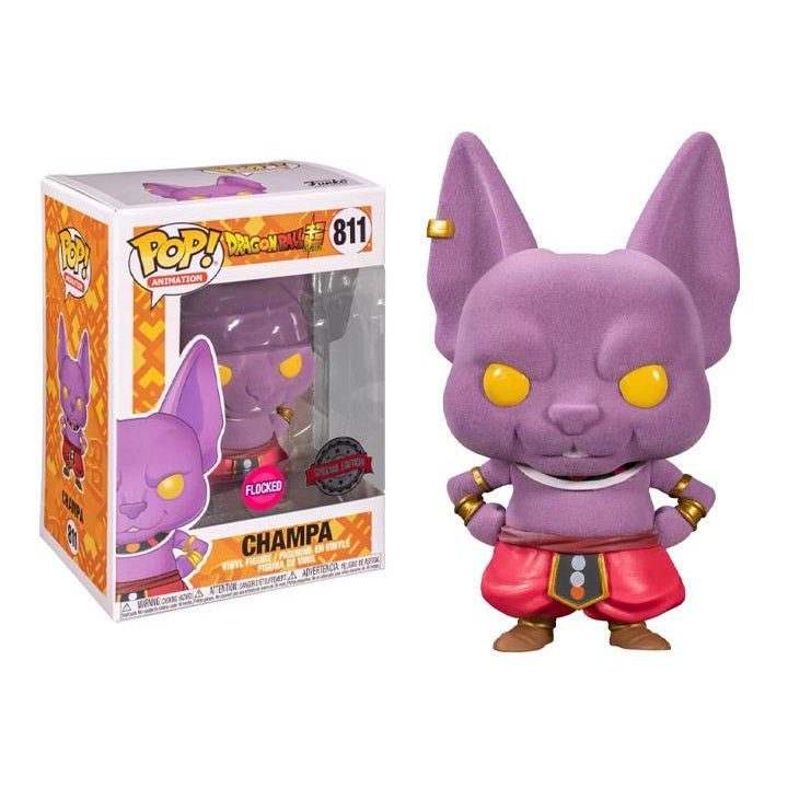Dragon Ball Super Pop! Vinyl Figure Champa (Flocked) [811]