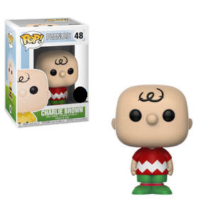 Peanuts Pop! Vinyl Figure Charlie Brown (Holiday) [48]