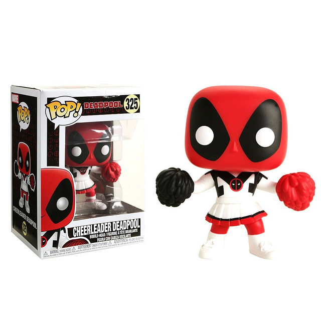 Marvel Pop! Vinyl Figure Cheerleader Deadpool [325]