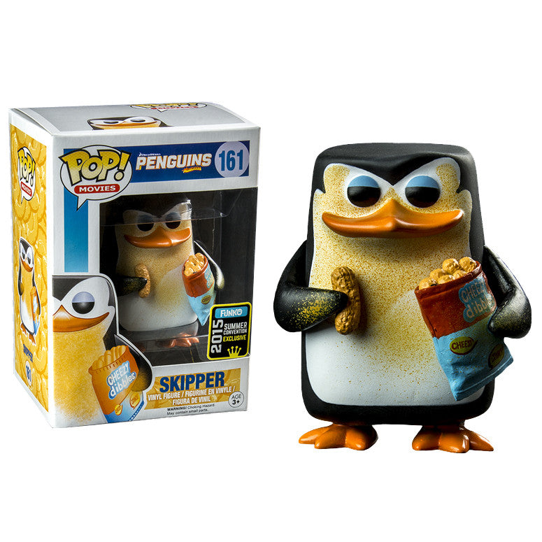 Movies Pop! Vinyl Figure Cheesy Skipper [Penguins of Madagascar] Summer 2015 Exclusive