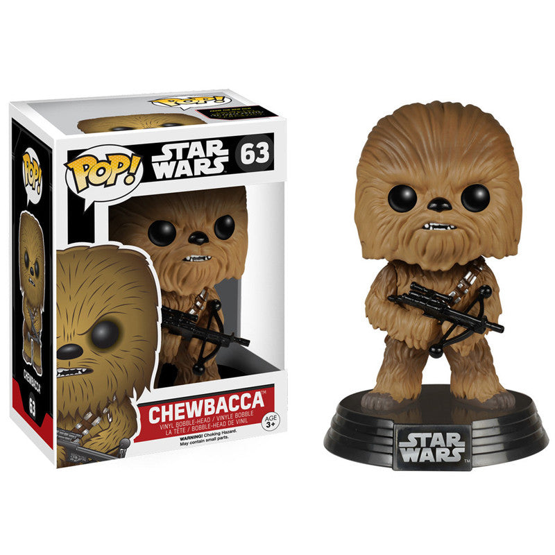 Star Wars Pop! Vinyl Bobblehead Chewbacca [Episode VII: The Force Awakens]