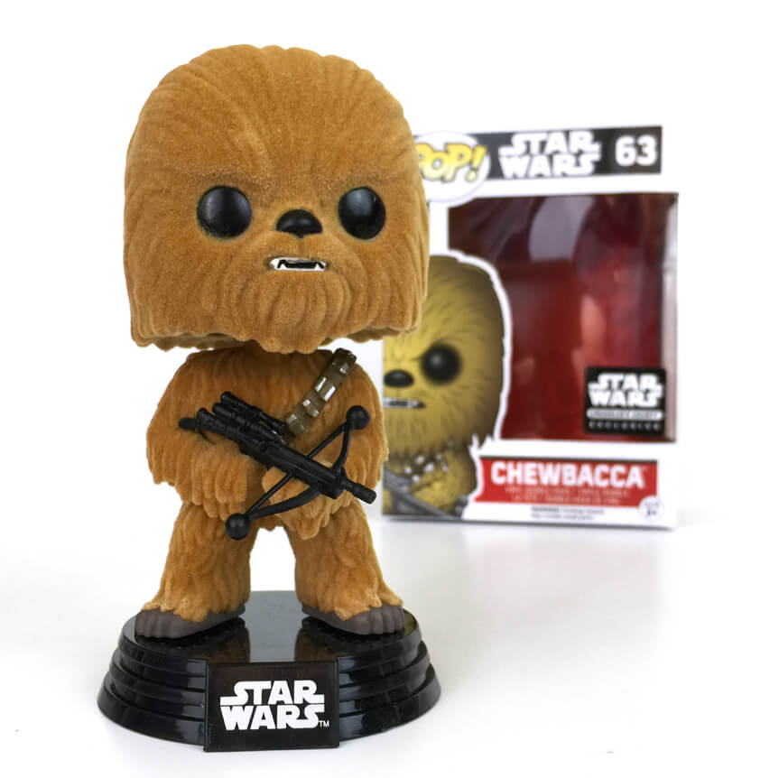 Star Wars Pop! Vinyl Figure Chewbacca (Flocked) [63]