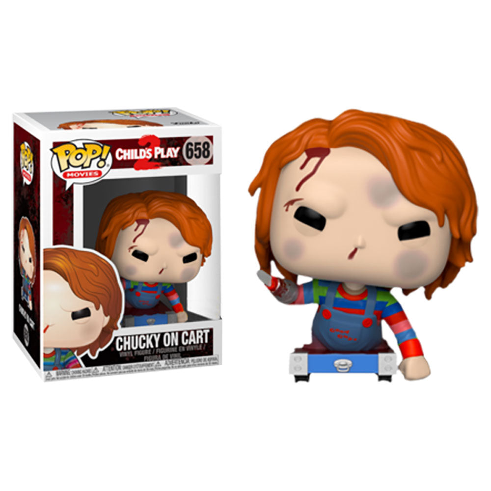 Child's Play 2 Pop! Vinyl Figure Chucky on Cart [658]