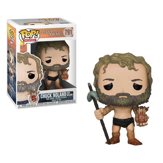 Cast Away Pop! Vinyl Figure Chuck with Wilson [791]