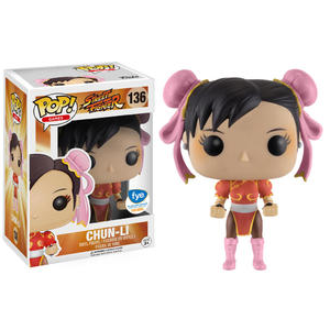 Street Fighter Pop! Vinyl Figures Red Chun-Li [136]