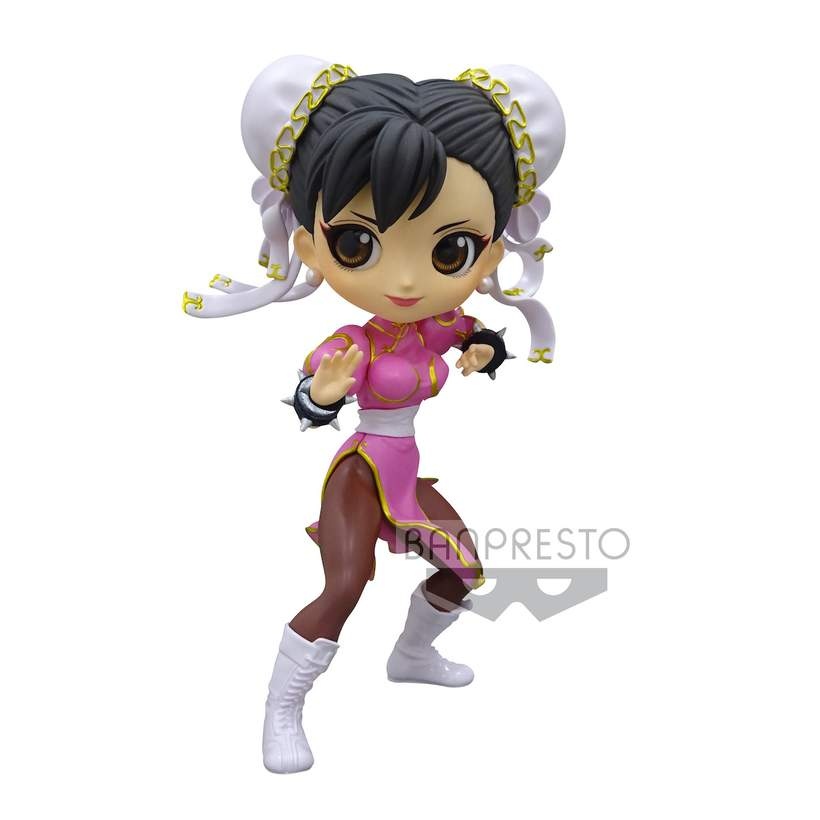 Street Fighter Q Posket Chun Li (Pink Outfit)