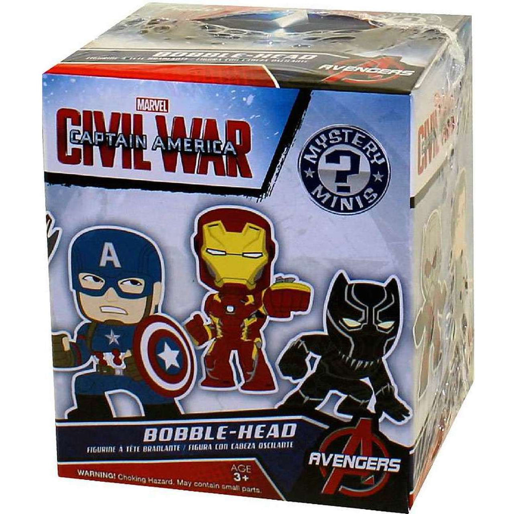 Funko Mystery Minis Captain America Civil War: (1 Blind Box)