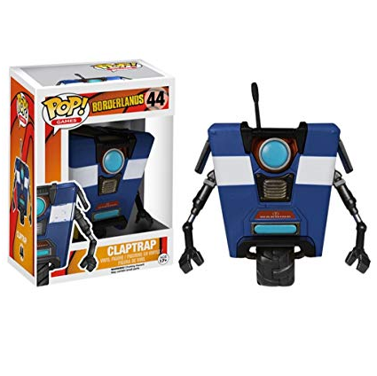 Borderlands Pop! Vinyl Figures Blue Claptrap [44]