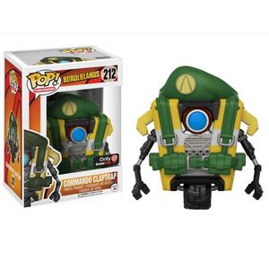 Borderlands Pop! Vinyl Figures Commando Claptrap [212]