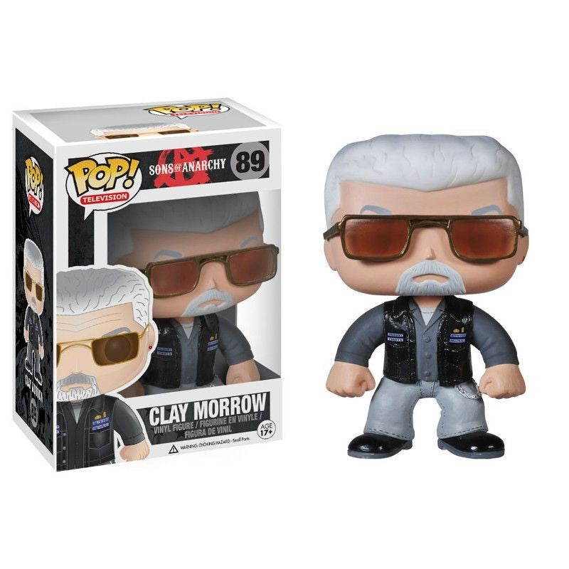 Sons of Anarchy Pop! Vinyl Figure Clay Morrow