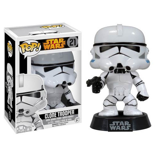 Star Wars Pop! Vinyl Bobblehead Clone Trooper [Re-Release] - Fugitive Toys