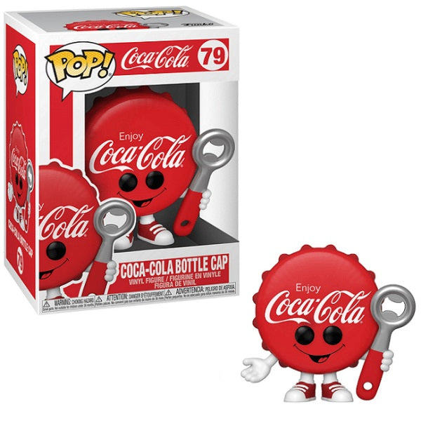Ad Icons Pop! Vinyl Figure Coke Coca Cola Bottle Cap [79] - Fugitive Toys