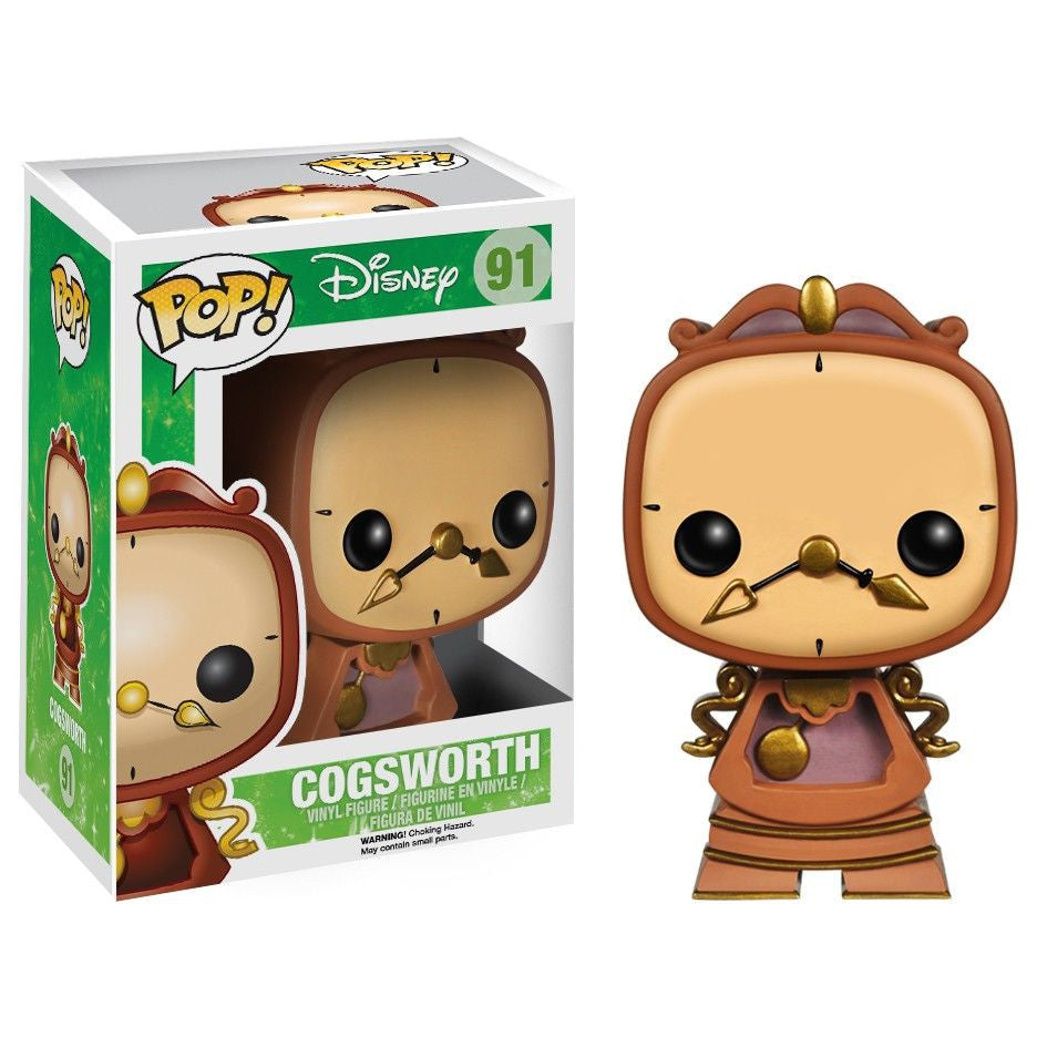Disney Pop! Vinyl Figure Cogsworth [Beauty & The Beast]
