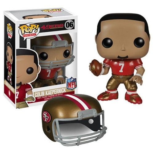 NFL Pop! Vinyl Figure Colin Kaepernick [San Francisco 49ers]