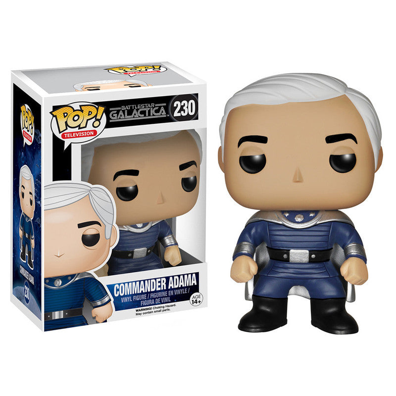 Battlestar Galactica Pop! Vinyl Figure Commander Adama