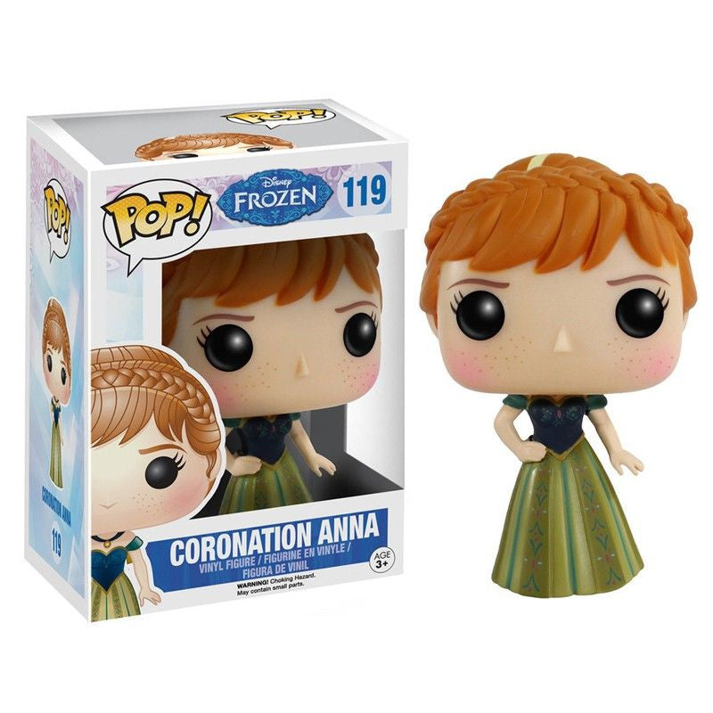 Disney Pop! Vinyl Figure Coronation Anna [Frozen]