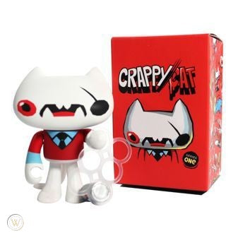 Crappy Cat Series 1 (1 Blind Box) - Fugitive Toys