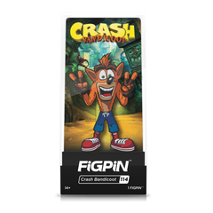 Crash Bandicoot: FiGPiN Enamel Pin Crash (Peace) [114]