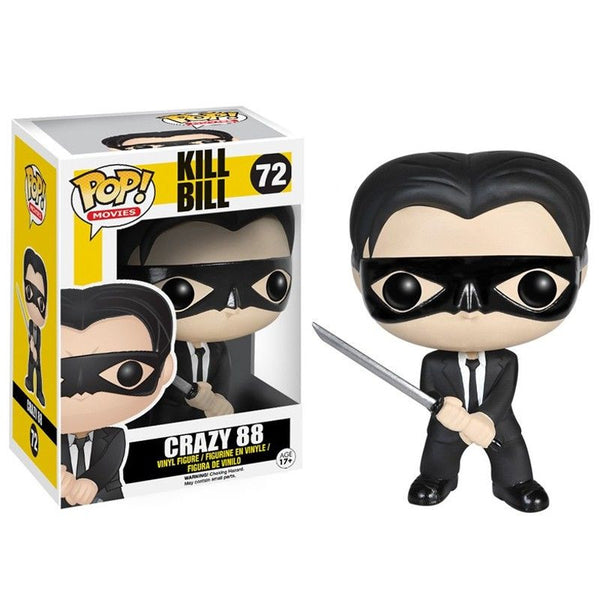 Movies Pop Vinyl Figure Crazy 88 Kill Bill Fugitive Toys