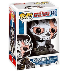 Captain America: Civil War Pop! Vinyl Figures Battle Damage Crossbones [140]