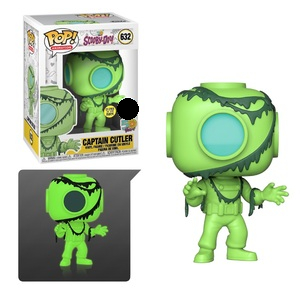 Scooby Doo Pop! Vinyl Figure Captain Cutler (Glow In The Dark) [632]