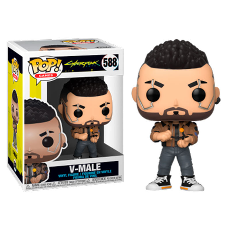 Cyberpunk 2077 Pop! Vinyl Figure V-Male [588] - Fugitive Toys