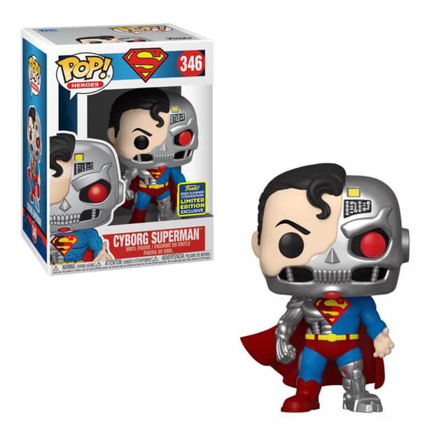 DC Comics Pop! Vinyl Figure Cyborg Superman (2020 Summer Convention) [346]