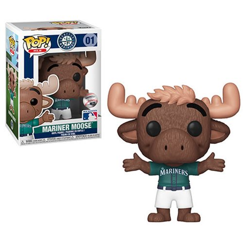MLB Mascots Pop! Vinyl Figure Mariner Moose (Green) [Seattle Mariners] [01]