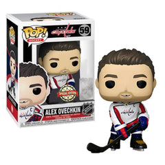 NHL Pop! Vinyl Figure Alex Ovechkin Retro White Jersey [Washington Capitals] [59]