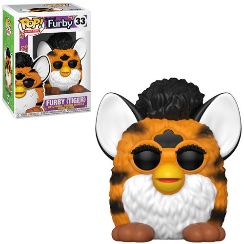 Hasbro Retro Toys Pop! Vinyl Figure Furby (Tiger) [33]