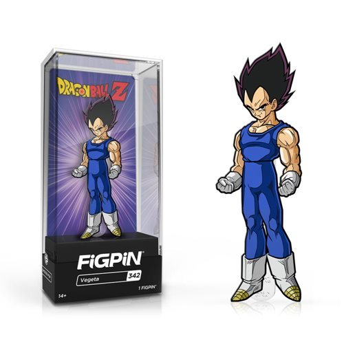 Dragon Ball Z: FiGPiN Enamel Pin Vegeta [342]