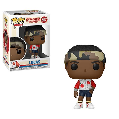 Stranger Things Pop! Vinyl Figure Lucas Season 3 [807]