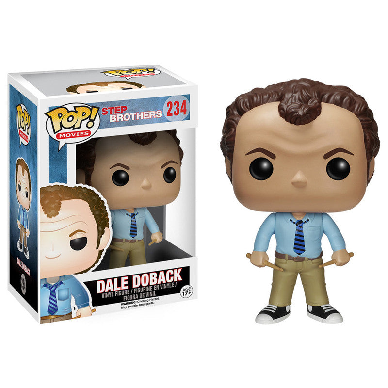 Movies Pop! Vinyl Figure Dale Doback [Step Brothers]