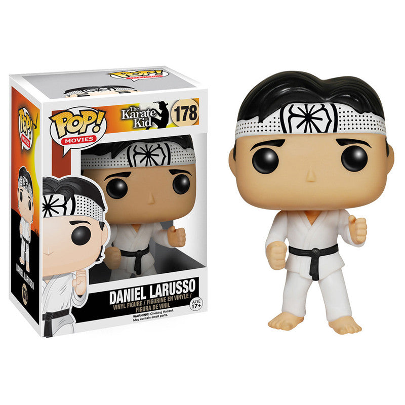 Movies Pop! Vinyl Figure Daniel LaRusso [The Karate Kid] - Fugitive Toys
