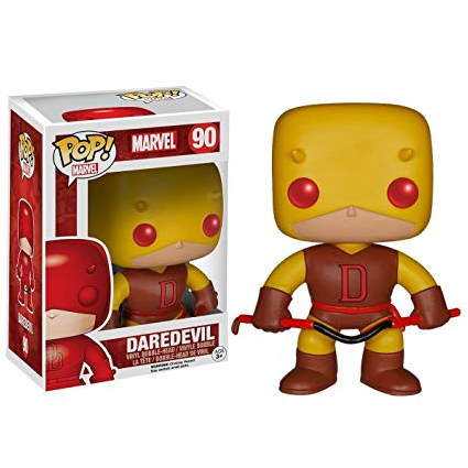 Marvel Pop! Vinyl Figures Yellow Daredevil [90] - Fugitive Toys
