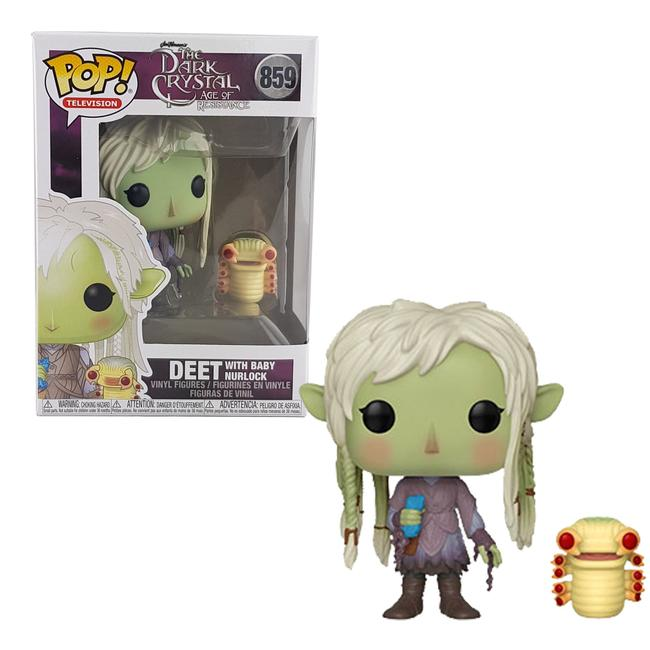 Dark Crystal: Age of Resistance Pop! Vinyl Figure Deet with Baby Nurlock [859]