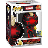 Marvel Pop! Vinyl Figure Dark Captain Marvel (2020 Summer Convention Exclusive) [657] - Fugitive Toys