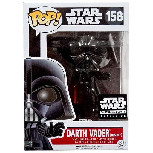 Star Wars Pop! Vinyl Figures Bespin Darth Vader [158] - Fugitive Toys