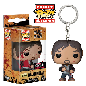 The Walking Dead Pocket Pop! Keychain Daryl Dixon (Bloody) [Exclusive] - Fugitive Toys