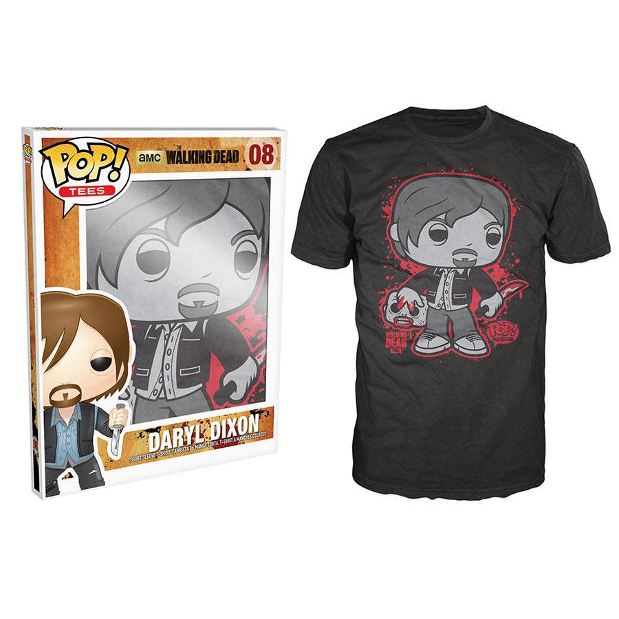Pop! Tees The Walking Dead Daryl Dixon [08] Extra Large