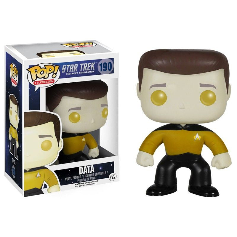 Star Trek The Next Generation Pop! Vinyl Figure Data