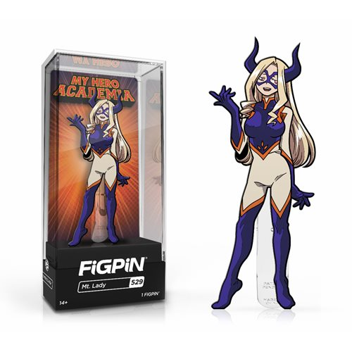My Hero Academia: FiGPiN Enamel Pin Mt. Lady [529] - Fugitive Toys