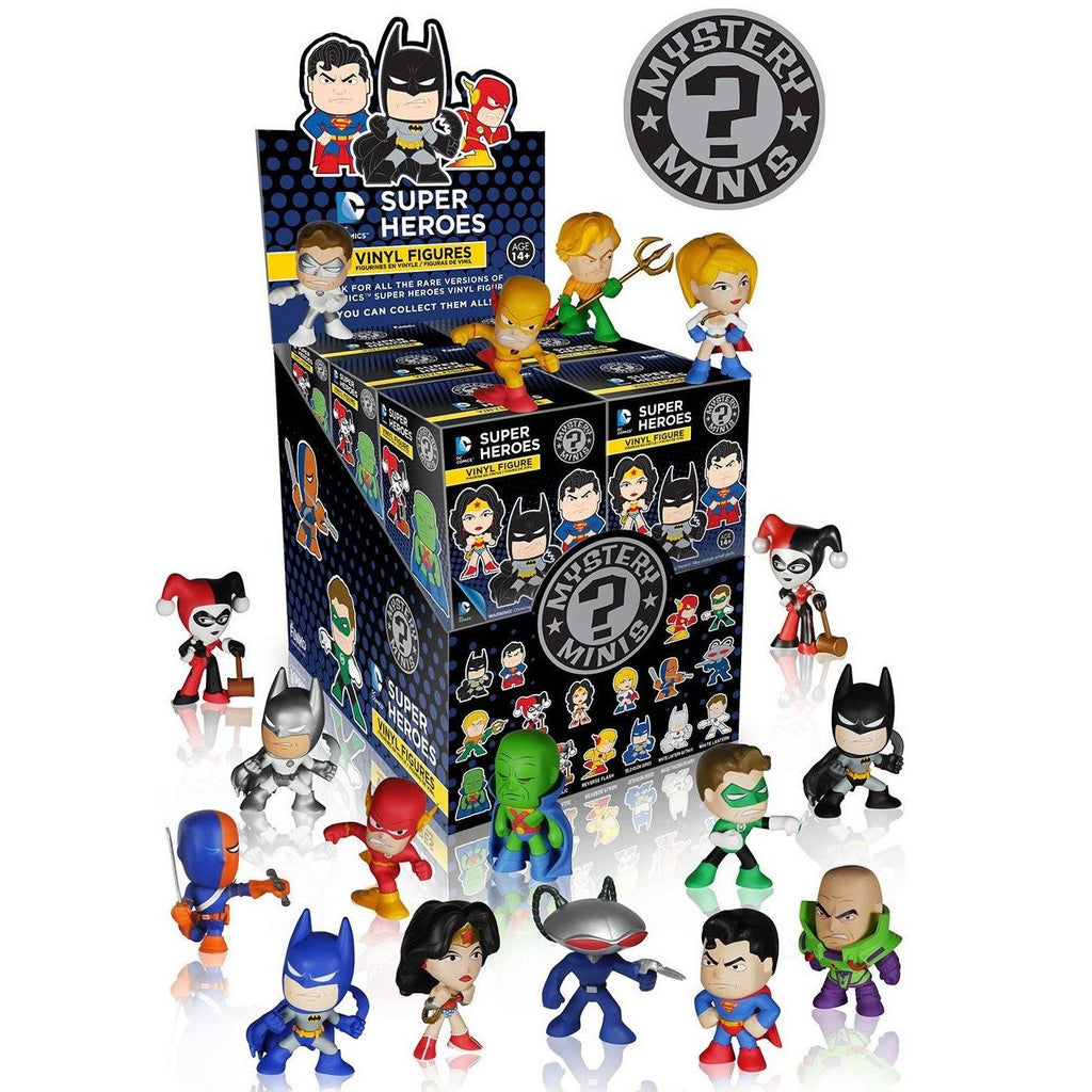 DC Comics Super Heroes Mystery Minis: (1 Blind Box)