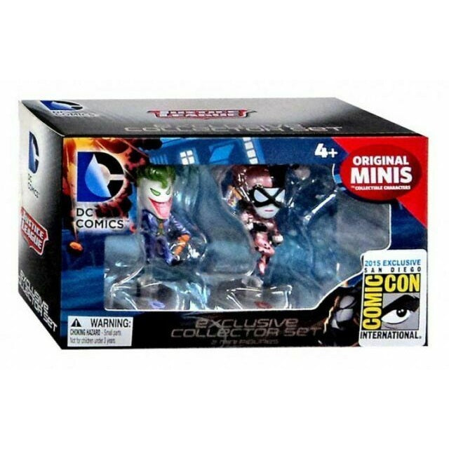 DC Comics The Joker and Harley Quinn 2015 SDCC Exclusive Collector Set