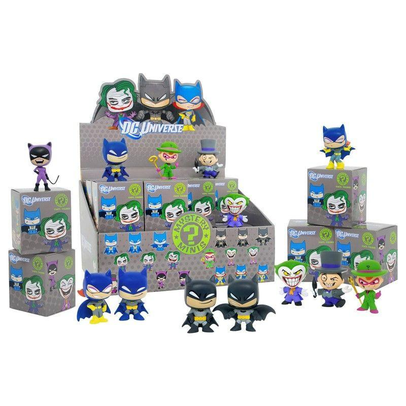 DC Universe Mystery Minis: (Case of 24)