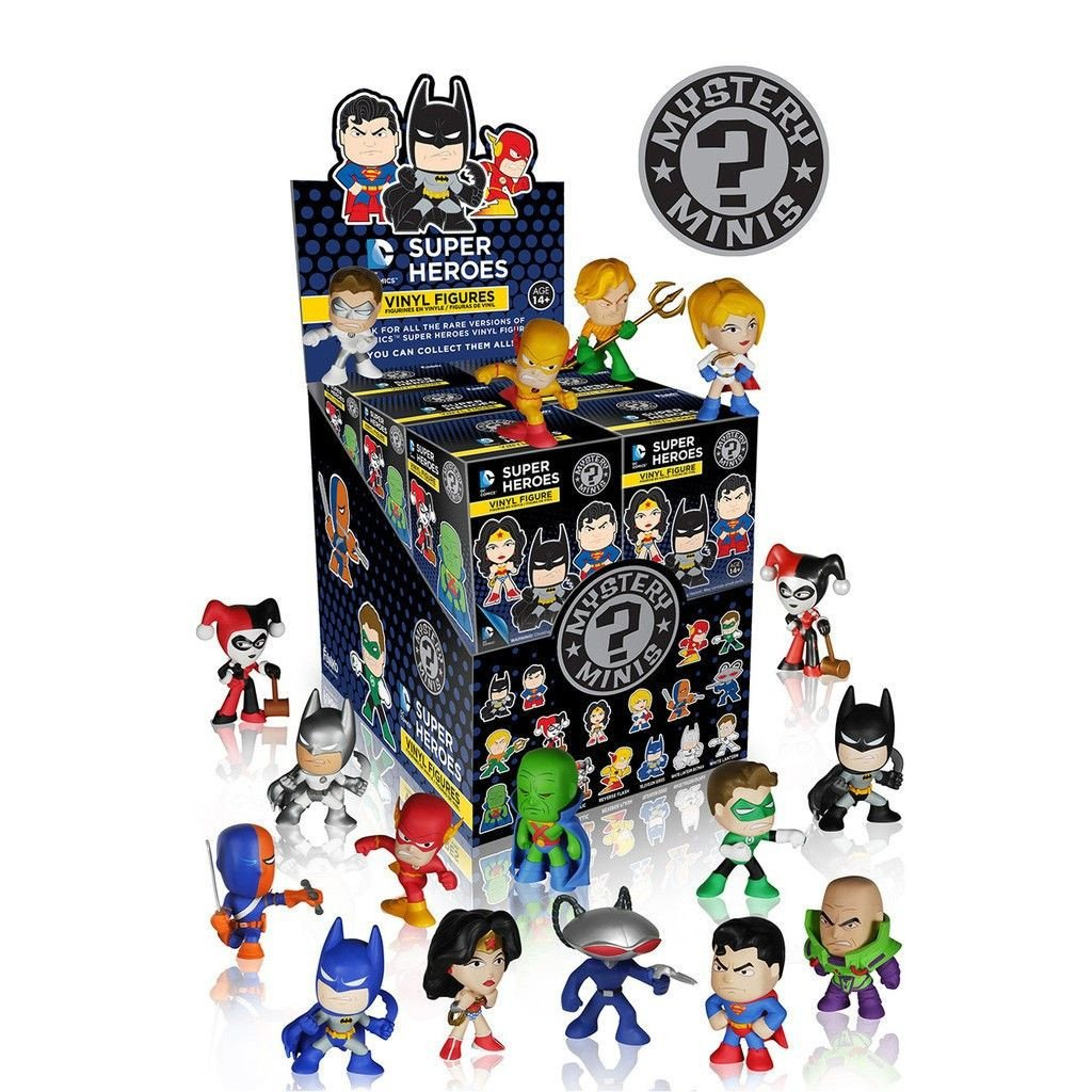 DC Comics Super Heroes Mystery Minis: (Case of 12)