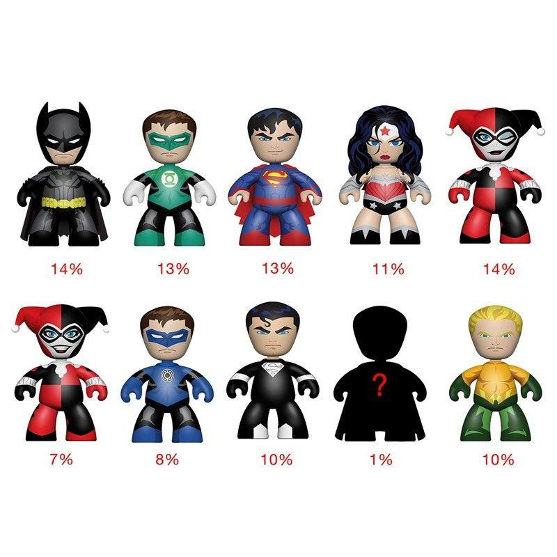 DC Universe 2 Inch Mini Mez-Itz: (Case of 24)