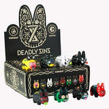 Kidrobot 8 Deadly Sins Labbit Mini Series (Case of 16) - Fugitive Toys