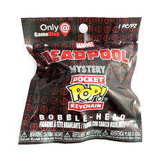 Mystery Pocket Pop! Keychain Marvel Deadpool [GameStop Exclusive]: (1 Blind Pack)