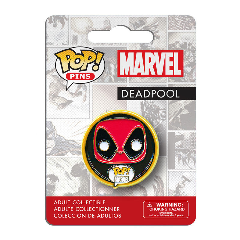 Marvel Pop! Pins Deadpool - Fugitive Toys